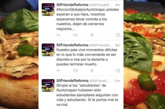 Manejo de redes sociales: 50 Friends Reforma