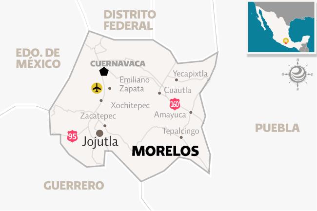 Ubicación de Jojutla, Morelos.
