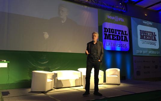 Digital media Latam 2015. Jeff Jarvis.