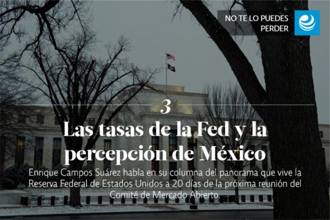 Las tasas de la Fed y la percepción de México