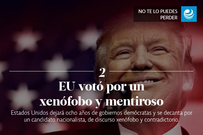 EU votó por un xenófobo y mentiroso
