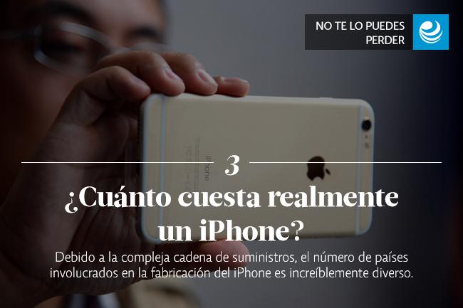 ¿Cuánto cuesta realmente un iPhone?