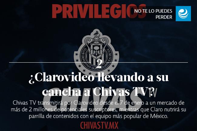 ¿Qué gol mete Clarovideo llevando a su cancha a Chivas TV?