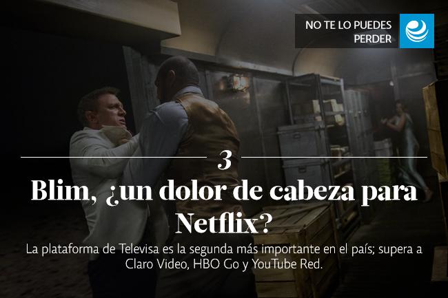 Blim, ¿un dolor de cabeza para Netflix?