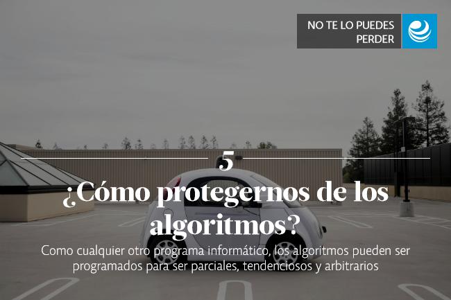 ¿Cómo protegernos de los algoritmos?