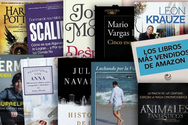 Libros más vendidos de Amazon