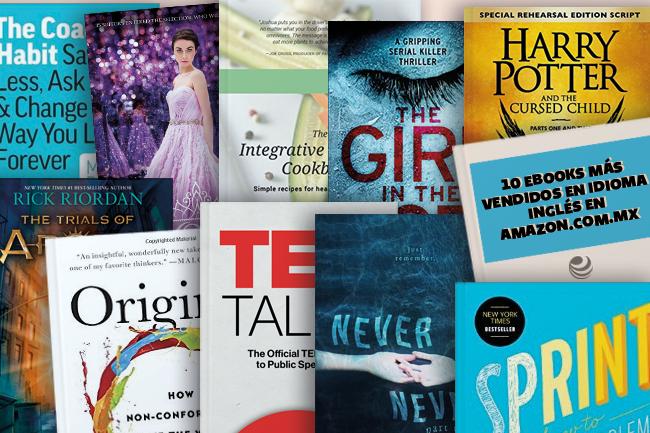ebooks en inglés más vendidos de Amazon