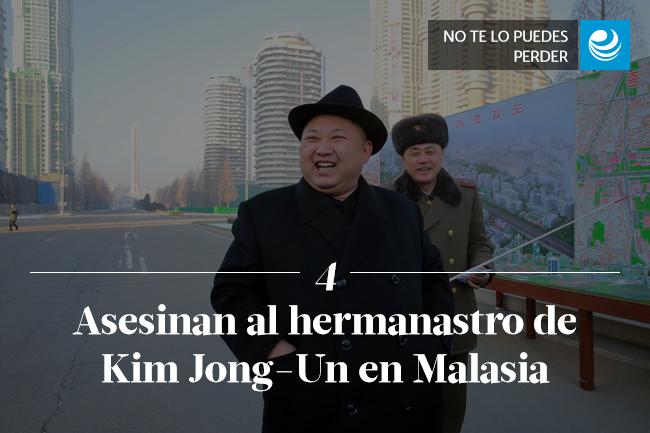 Asesinan al hermanastro de Kim Jong-Un en Malasia