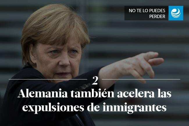 Alemania también acelera las expulsiones de inmigrantes