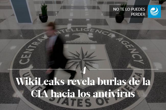 WikiLeaks revela burlas de la CIA hacia los antivirus