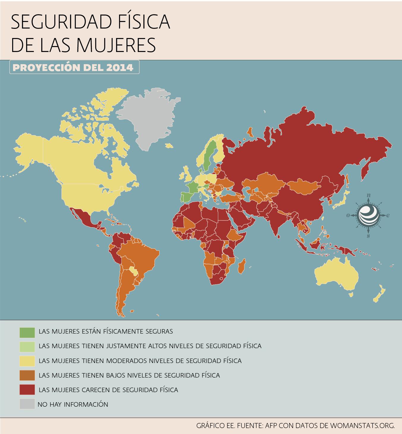 Mapas Mujeres en el mundo