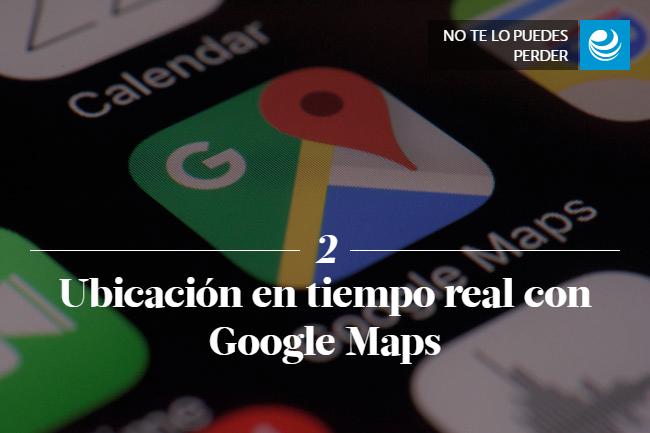 Ubicación en tiempo real con Google Maps