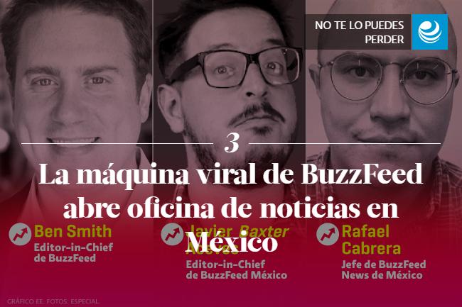 La máquina viral de BuzzFeed abre oficina de noticias en México
