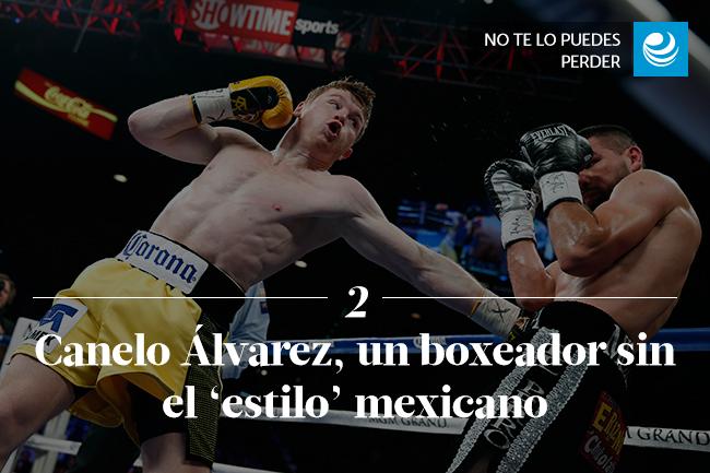 Canelo Álvarez, un boxeador sin el 'estilo' mexicano