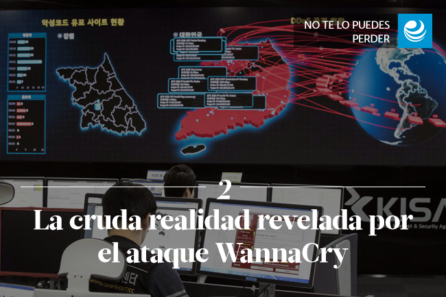 La cruda realidad revelada por el ataque WannaCry