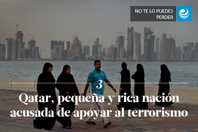 Qatar, pequeña y rica nación acusada de apoyar al terrorismo