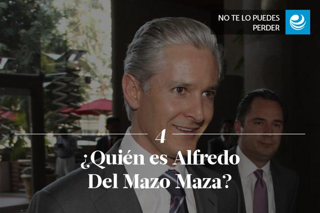 ¿Quién es Alfredo del Mazo Maza?