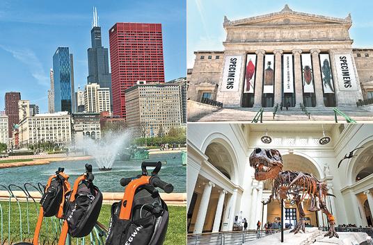 Chicago encanto cosmopolita
