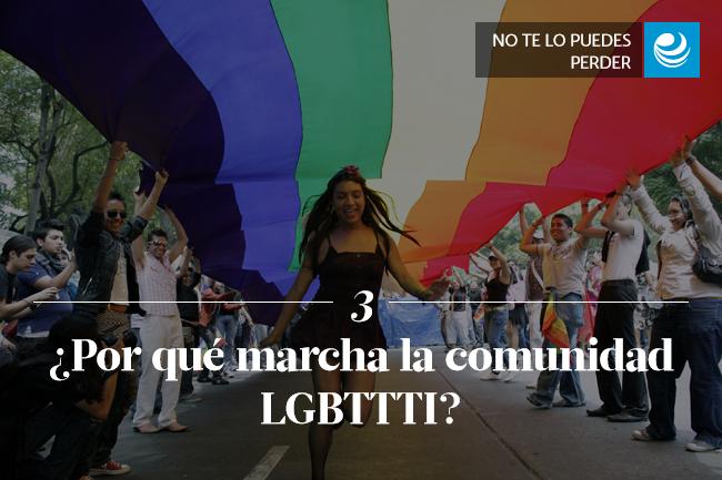 ¿Por qué marcha la comunidad LGBTTTI?