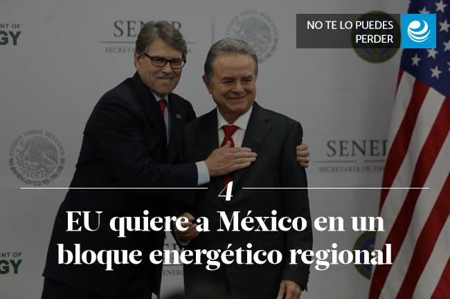 EU quiere a México en un bloque energético regional
