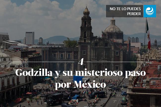 Godzilla y su misterioso paso por México