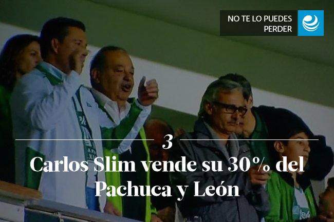 Carlos Slim sale del negocio del futbol; vende su 30% del Pachuca y León
