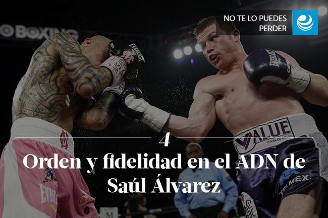 Orden y fidelidad en el ADN de Saúl Álvarez