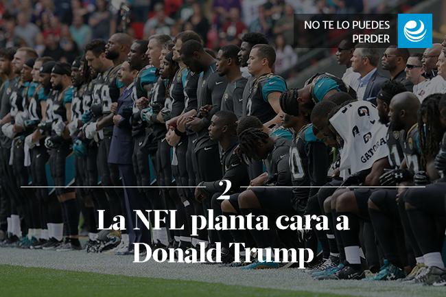La NFL planta cara a Donald Trump